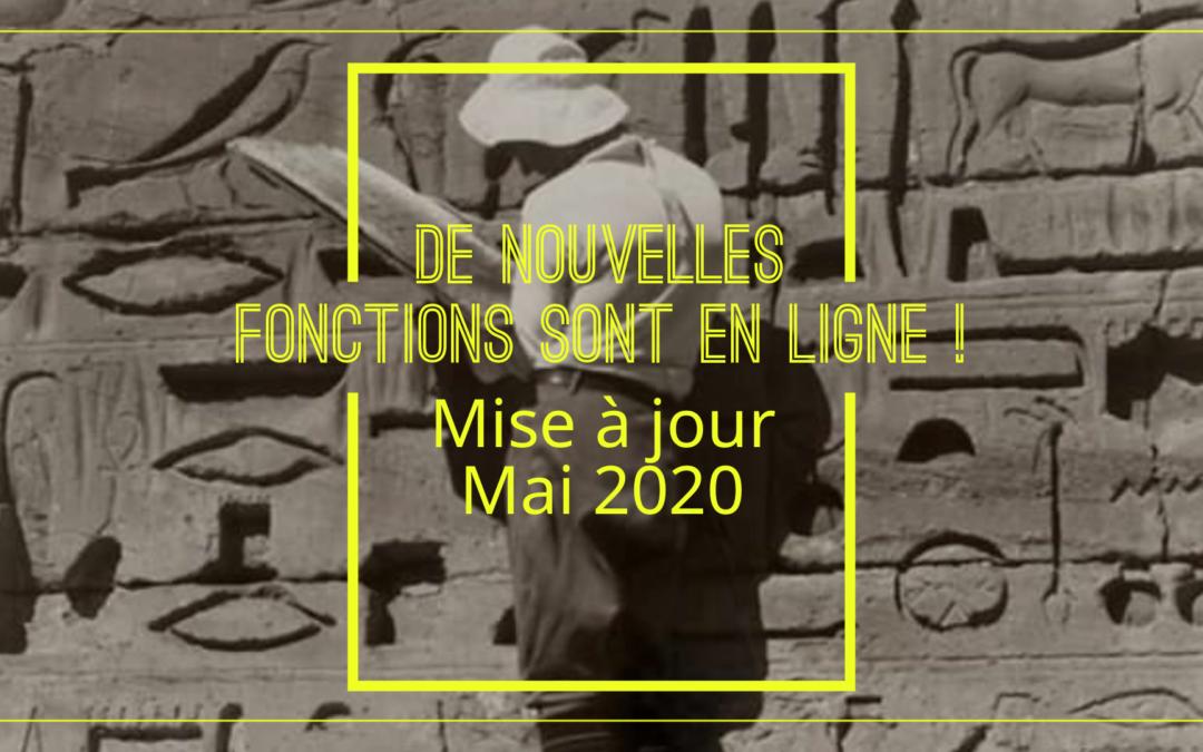 Mai 2020 : Mise à jour🚀